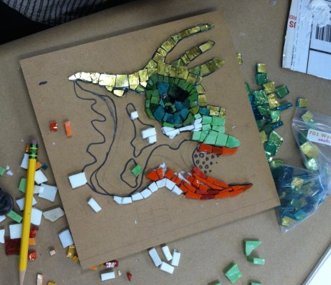 Adria Arch's mosaic